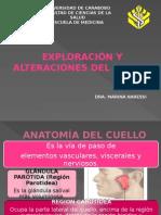 Semiologia Del Cuello