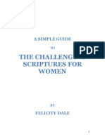A Simple Guide to the Challenging Scriptures for Women