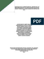 El Modelo Pedagógico en La Orientación Del Deporte de Las Jornadas Complementarias en Las Instituciones Educativas Públicas de Básica y Media de La Zona Urbana de Santiago de Cali (1)