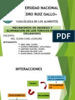 Mecanismos de ingreso y eliminacion de los tóxicos en el organismo.pptx