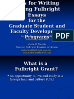 Writing Project Essays_ Student_Faculty Development Programs_2010