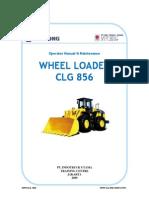 WHEEL LOADER Maintenance & specification WA CGL 856 Liu Gong.pdf