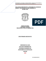implementacion de depto licitaciones y presupuestos