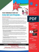 Scrip Gift Card Program 2015