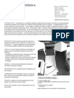 Architecture Design and Visual Cuture - Todd Rouhe