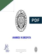 4 Anamnesi in Omeopatia.versione Ridotta 1ppt