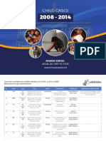 Child Cases 2008 -  2014 LBH Mawar Saron
