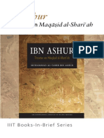 Books-In-Brief Ibn Ashur Treatise on Maqasid AlShariah