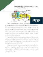Sistem Operasi Boiler Berbahan Bakar Bagasse