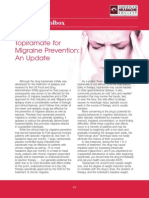 Topiramate for Migraine Prevention May 2012