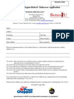 2015 BetterU Challenge Application