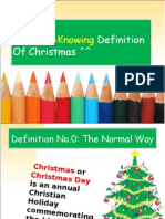 6 Worth-Knowing Definition About Xmas
