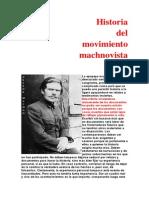 Historia Del Movimiento Machnovista de P. Archinoff