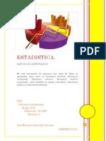 EJERCICIO 3. Datos no Agrupados.