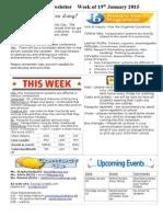 newsletter week of 190115