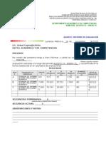 Informe de Evaluaciones AGO 14-EnE 15