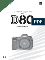 Manual Nikon D80 Português (PT-PT)