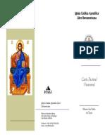 Carta Pastoral Vocacional