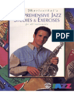 Sax-Comprehensive Jazz Studies & Exercises - Eric Marienthal