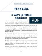 17 Ways to Attract Abundance