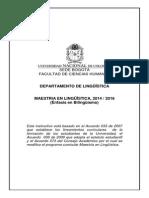 Instructivo_Maestria en Linguística UNAL 2014