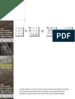 La Ecuacion de Estado de La Barra en Las Estructuras Traslacionales