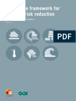 The Future Framework for Disaster Risk Reduction