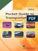 Pocket Guide to Transportation 2015