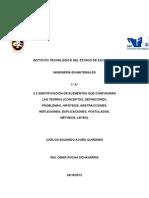 Elementos Que Configuran Las Teorias Conceptos Definiciones Hipotesis Abstracciones Reflexiones Explicaciones Postulado