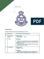 Nota Kawad Kaki Kadet Polis