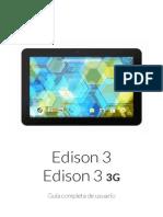 Manual Edison 3 3G