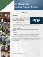Demolition Process Detailed
