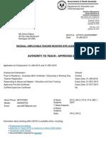decd acknowledgement  teaching authority 2