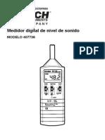 Manual Sonometro