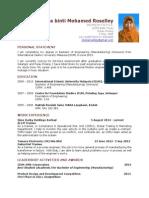Example Resume 2015