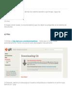 Instalación de GitHub
