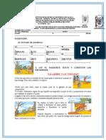 Diagnóstico de Español 2º Grado