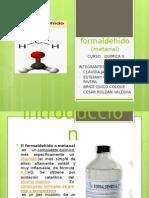 formaldehido quimica