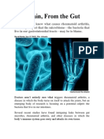 Joint Pain-From the Gut
