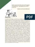 Un caso especial de reposición laboral en el Contrato Administrativo de Servicios.doc