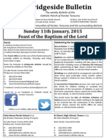 2015-01-11 - Baptism of the Lord B