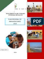 Plan Regional Inmunizaciones 2014
