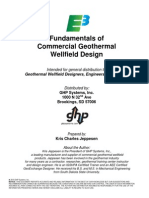 Fundamentals of Commercial Geothermal Wellfield Design