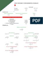 Formulario Física i