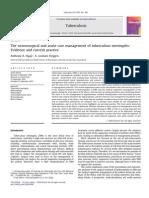 Neurological Care of Tuberculous Meningitis