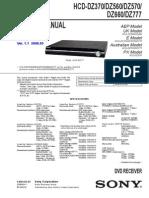 SONY HCD-DZ370-560-570-660-777-Ver. 1.1 2008.05 DVD Receiver sm