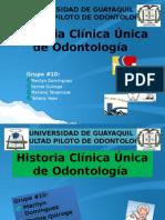 Historia Clínica Única de Odontología