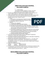 Manajemen Evaluasi Dan Kontrol Halaqohh