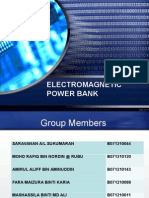 Electromagnetic Power Bank