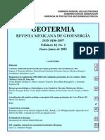 Revista Geotermia